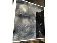 Indesit ceramic halogen electric cooker 60cm free delivery