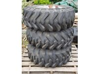 Titan Trac loader tyres - 43 x 16.00 - 20