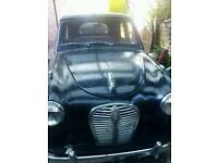 Austin A30 Classic car, 1954, tax and mot exempt, black, project car.