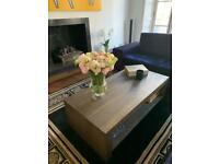 Contemporary Coffee Table in Robust Oak