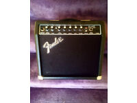 Fender Frontman 15R Amplifier with Reverb / Ideal Begineers/ Intermediate Amp.