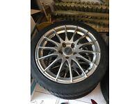 fox racing alloy wheels set of 4