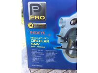 Pro 1800W Circular Saw with laserline model CLM1800LCS