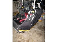 Gin GingoII paragliding harness - Size S. excellent condition