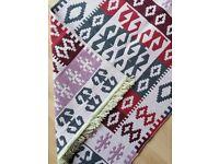 Brand new Turkish kilim rug - multicolor
