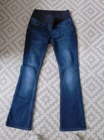 NEXT maternity jeans size 8