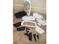 Morphy Richards Upright and Handheld 9 in 1 Steam Cleaner