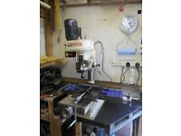 Axminister Milling Machine