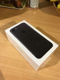 iPhone 7 128GB in Black! Factory unlocked, sealed!