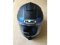 New! HJC IS-17 100% MAX vision black motorcycle helmet