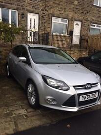 Ford Focus Zetec 61 Plate with Appearance Pack