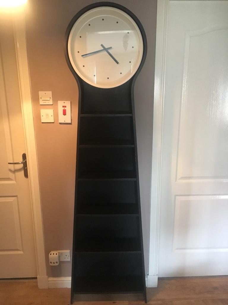 Ikea Ps Pendel Grandfather Style Clock Shelf Bookcase In Bathgate West Lothian Gumtree