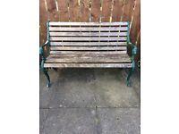 garden bench £10
