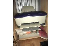 Epson Stylus C70 colour inkjet Printer and Visioneer 4800 USB Scanner