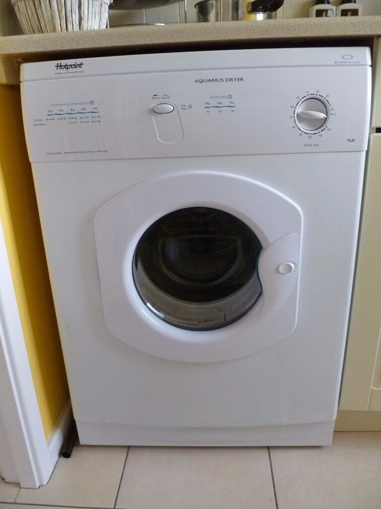 Loading Tumble Dryer ~ Hotpoint aquarius vented tumble dryer kg load in