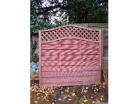 Woodbury fence panels
