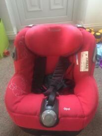 Fitted maxi cosi car seat