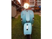 LML star auto 125cc in Blue