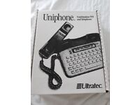 Brand new Ultratec Uniphone 1150 phone for the deaf