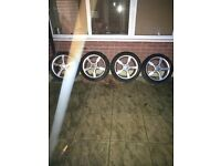 Seat 17 inch Sports Alloy Wheels With Tyres