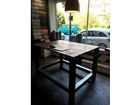 Workbench / Workshop Stool Table. Great for Workshops or Industrial Style Interior