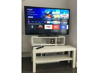 "Ultra Slim 50""Smart Phillips TV+Firestick+Brand New TV Remote-Excellent Condition."