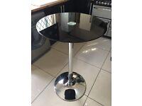 Black&Silver breakfast/bar table