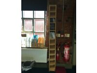 IKEA Beech Tall Book/CD/DVD Shelves £5