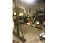 Engine Lift For Buses Trucks Vans Cars- Solid WORKS VERY WELL