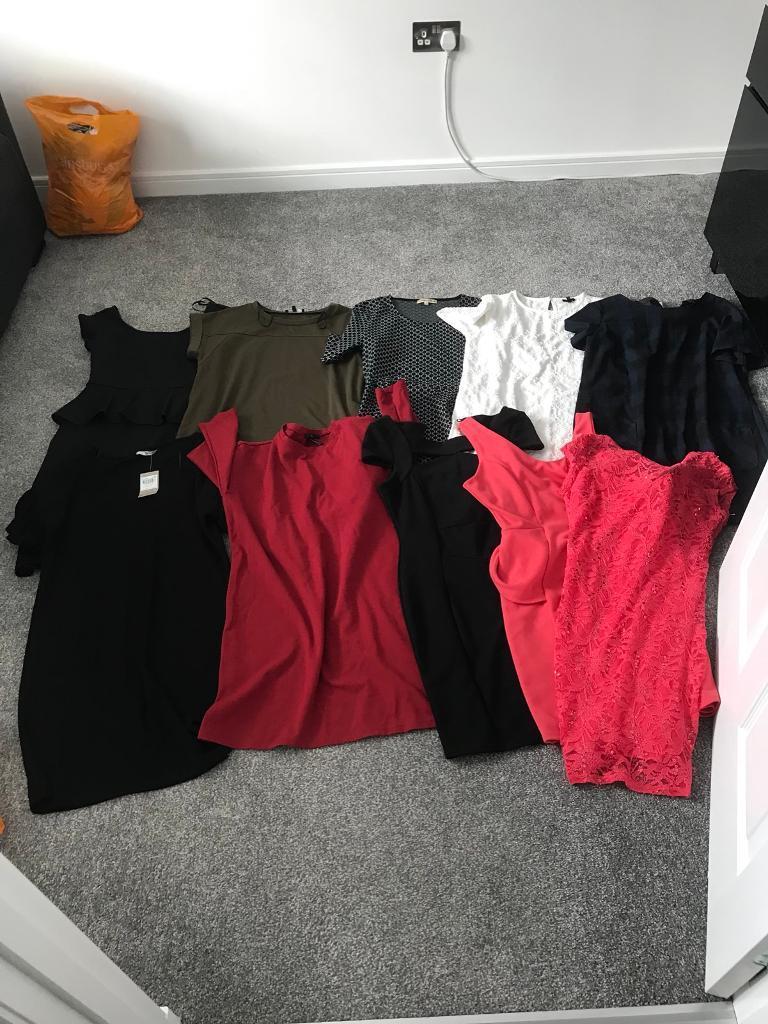 Ladies dresses.