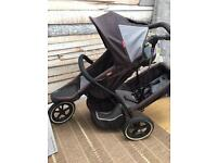 Phil&Teds pushchair with extras