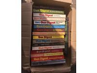 Job lot of 16 gun digest books from 1969-1983