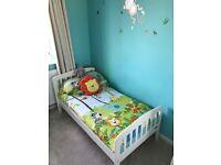 Mamas and papas toddler bed and mattress