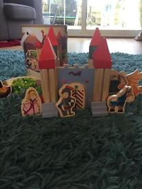 Play Jive wooden knights castle