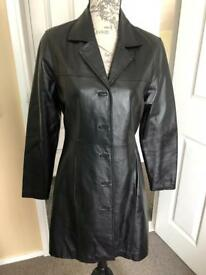 Ladies Leather 3/4 coat