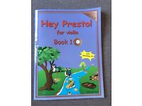 Hey Presto! for violin Book 1 with CD Book