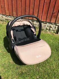 Silver cross surf pushchair/car seat