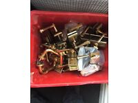 Old Style Brass Door Handles (ONLY £3 A Pair)
