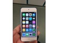iPod Touch 6th Generation 16gb blue model.