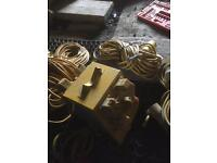 110v splitters and cables