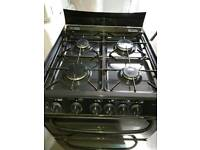 Cannon black gas cooker grill and oven, free delivery
