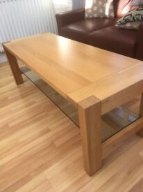 Oak Coffee Table Good Quality M&S furniture