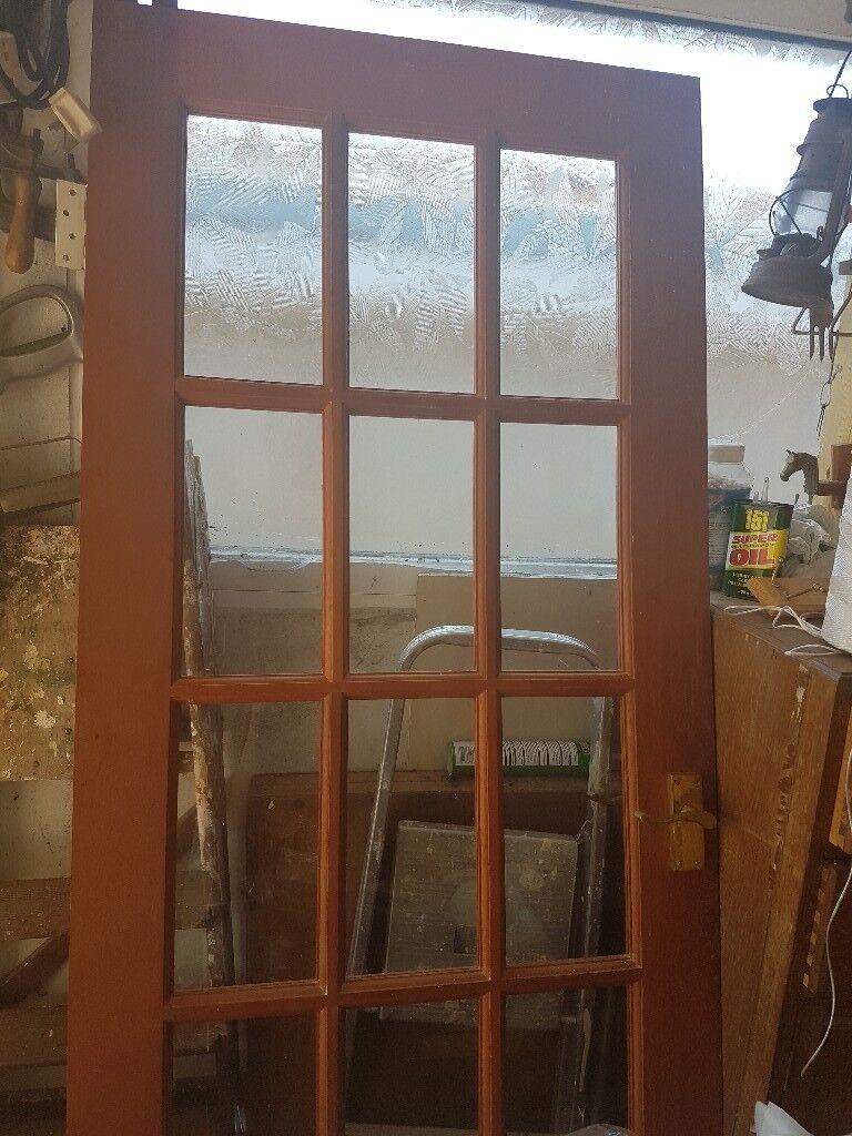 Interior Door 15 Glass Panel Wood Effect In Cwmbran Torfaen