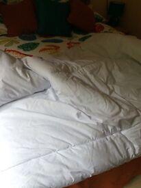 King sized duvet. ASDA. 15 TOG.