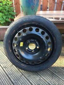 Spare Car Tyre - Temporary Use - Excellent tread still on hardly used