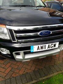 Ford Ranger Limited Pick Up Reluctant Sale
