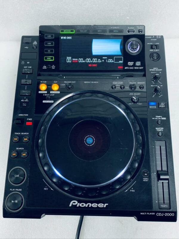 Pioneer CDJ-2000 DJ Multi-Player