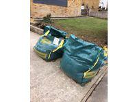 2x 1 ton 10mm gravel bags
