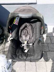 GRACO limited edition MODES junior CARSEAT & base BLACK collect Newquay TR7 area