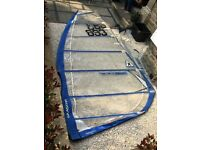 7.5m Gaastra GTX twin cam windsurf sail in good condition